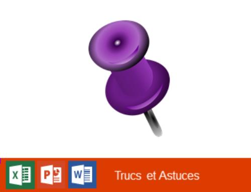 Office 365 – Accéder rapidement à des fichiers avec l'option «Epingler»
