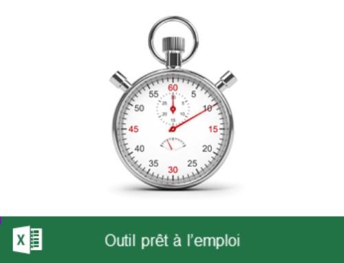 L'outil d'Analyse du temps de travail sous Excel