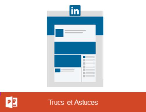 PowerPoint – Créer une bannière de présentation pour les articles LinkedIn