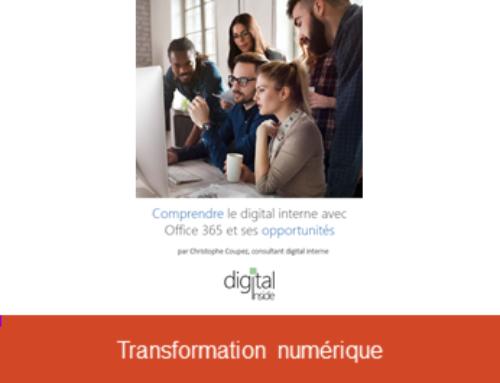 Comprendre le digital interne avec Office 365 et ses opportunités par Christophe Coupez