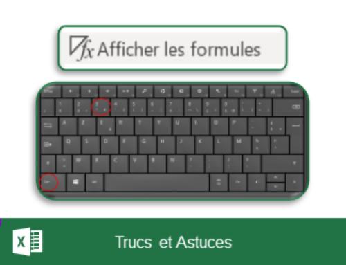 Excel – Afficher et imprimer les formules