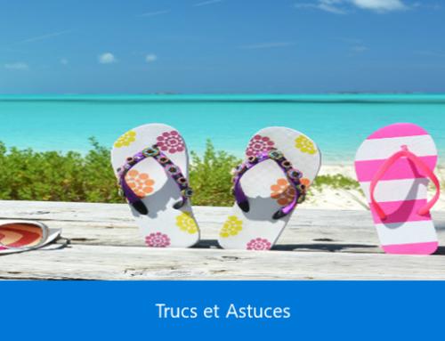 Outlook – Comment empêcher votre messagerie de vous gâcher votre retour de vacances !
