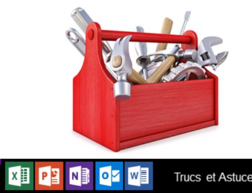 Personnaliser la barre d'outils Accès rapide des applications Microsoft