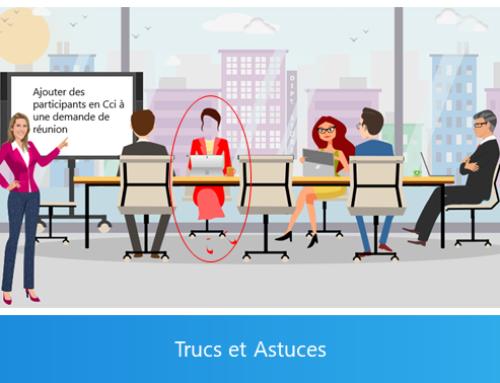 Outlook – Ajouter des participants en Cci à une demande de réunion