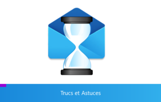 Visuel représentant la règle de différer l'envoi des mails