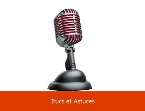 Astuces Microsoft – La dictée vocale pour tous
