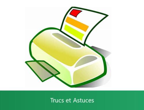 Excel – Imprimer des commentaires ou des notes