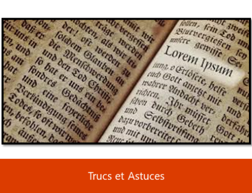 Astuces Microsoft – Générer du faux-texte