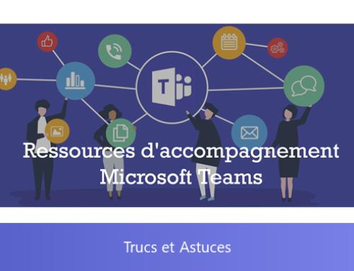 Les ressources d'accompagnement Microsoft Teams par Patrick Guimonet