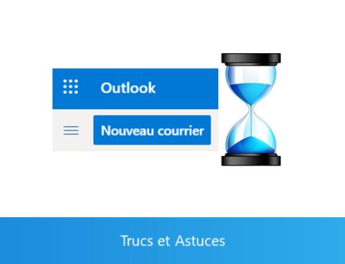 Outlook Online – Retarder l'envoi des mails